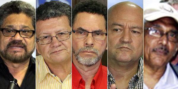 FARC EN CUBA - JEFES