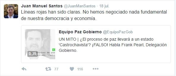 Twitter castro chavista