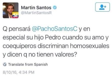 MARTIN SANTOS- ATACA A PACHO